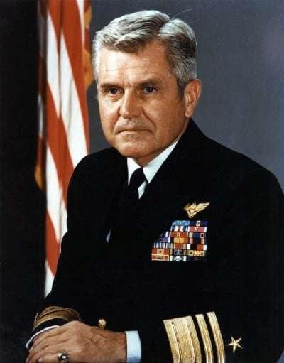050706-N-0000X-004 Navy File Photo - President of the U.S. Naval War College, Vice Adm. James Bond Stockdale, USN. U.S. Navy photo (RELEASED)